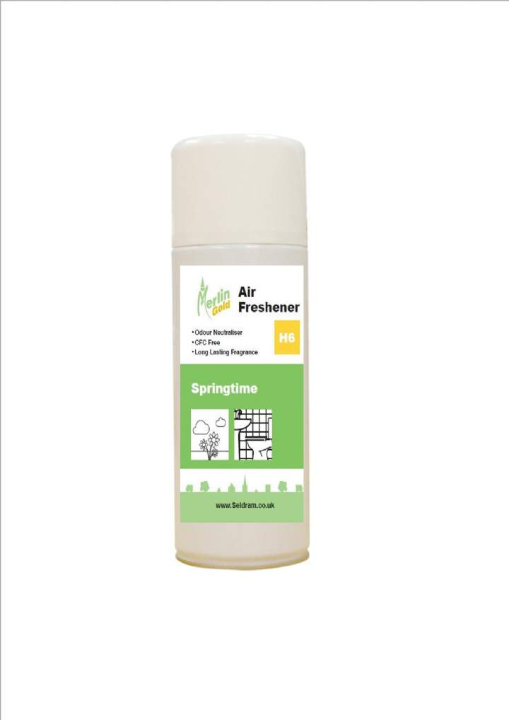 MERLIN AEROSOL AIR FRESHNERS SPRINGTIME - 12x400ml