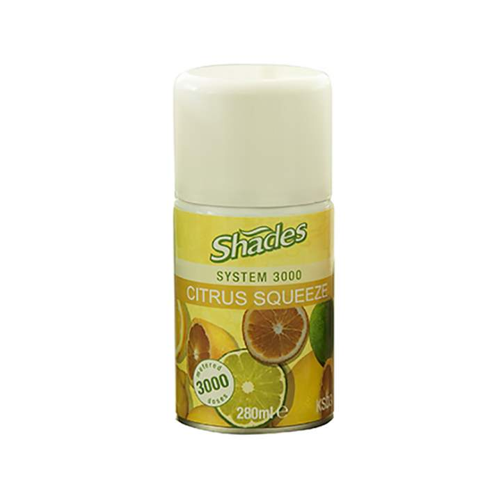 SHADES 3000 CITRUS SQUEEZE REFILLS - 3x280ml