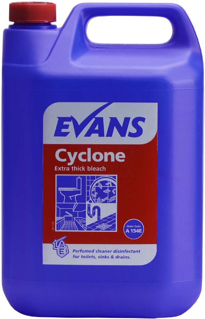 CYCLONE THICK BLEACH - 2x5Ltr