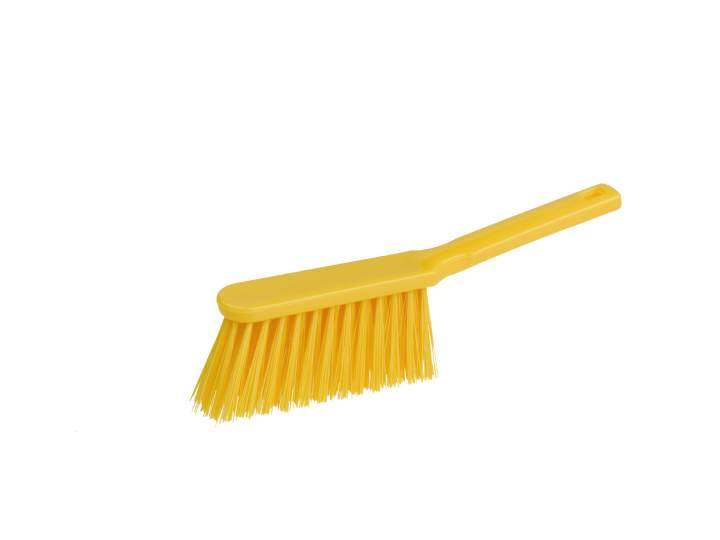 SOFT NYLON HAND BRUSH YELLOW - Each