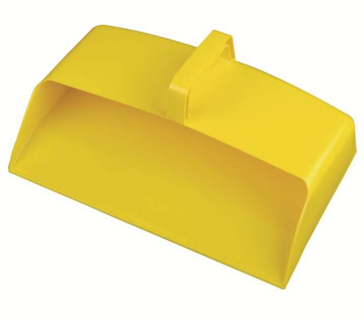 ENCLOSED PLASTIC DUSTPAN YELLOW - Each