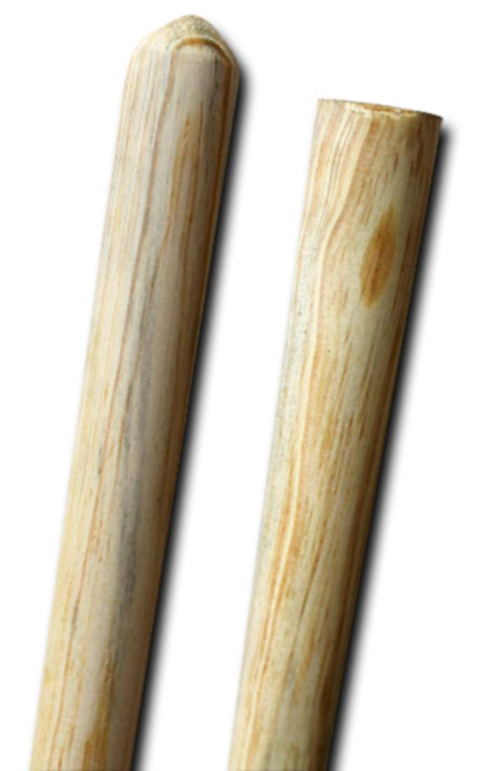 4ft BROOM / MOP HANDLE WOODEN - Each