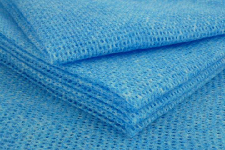 H.D ALL PURPOSE CATERING CLOTHS BLUE - Pack 25