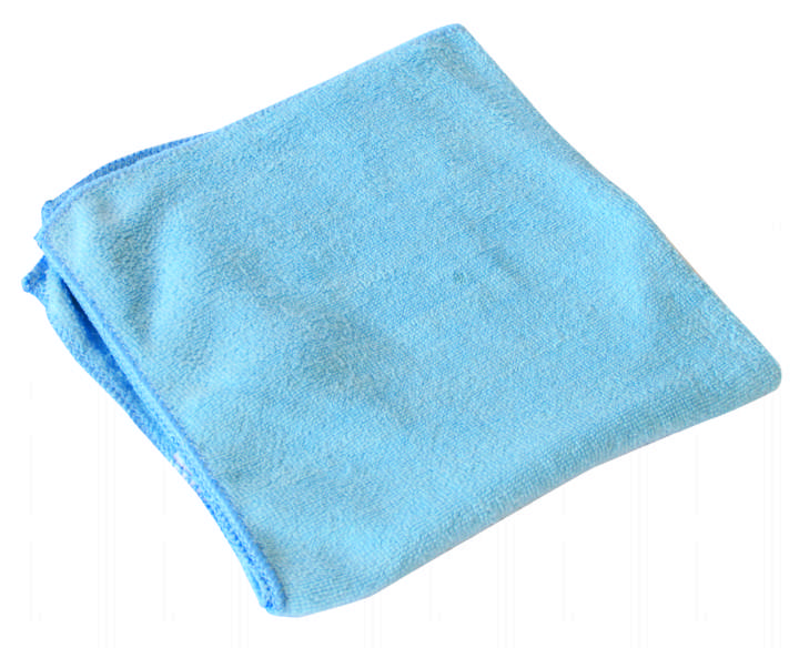 H/W MICROFIBRE CLOTHS IN BLUE - Pack 10