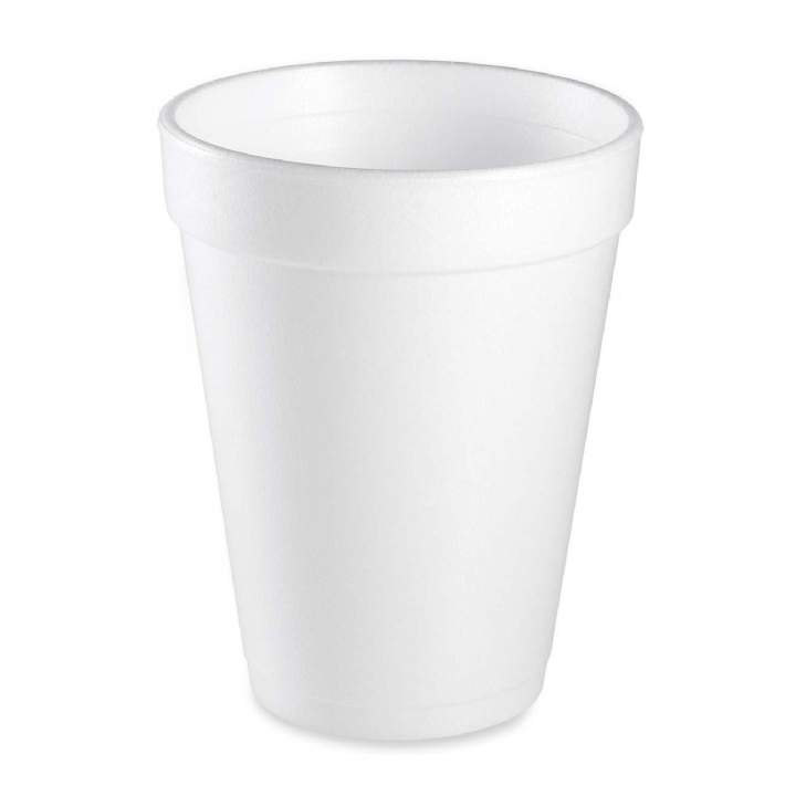 7oz TALL WHITE PLASTIC CUPS - Ctn 2000