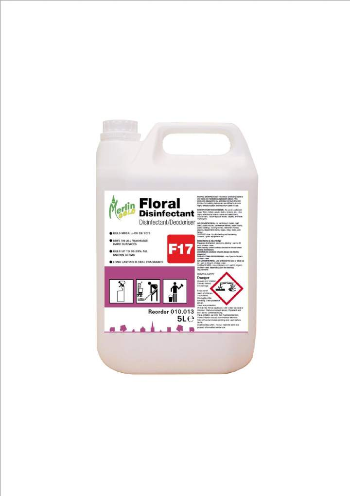 MERLIN FLORAL DISINFECTANT - 5ltr