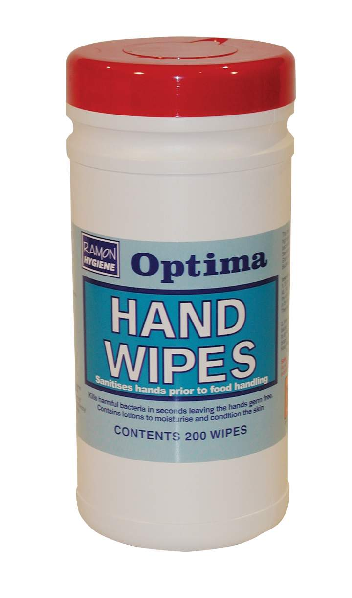 SKIN & HAND ANTISEPTIC WET WIPES - Tub 200