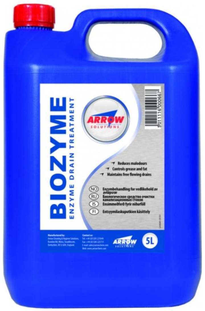 ARROWS BIOZYME CONC. DRAIN CLEANER - 5ltr