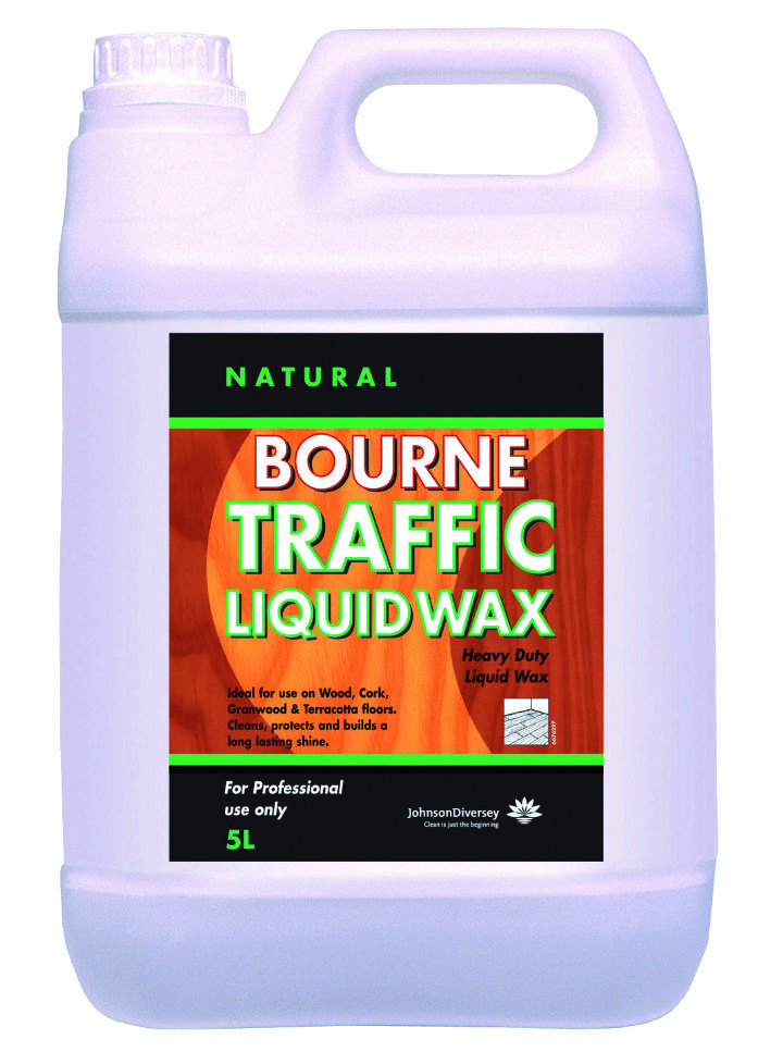 BOURNE BUFFABLE LIQUID TRAFFIC WAX - 5ltr
