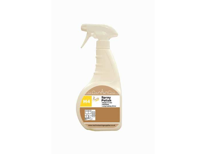 MERLIN H4 FURNITURE POLISH TRIGGERS - 6x750ml