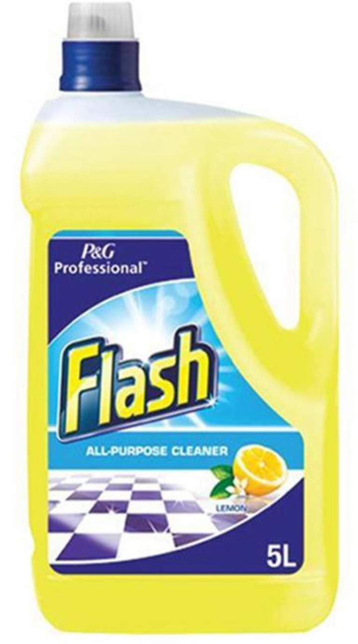 FLASH ALL PURPOSE CLEANER LEMON - 5ltr