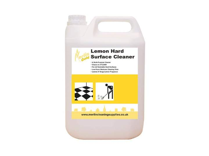 MERLIN H1 LEMON HARD SURFACE CLEANER - 2x5ltr