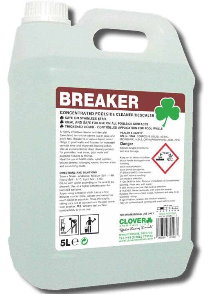 BREAKER HD POOLSIDE CLEANER - 5ltr