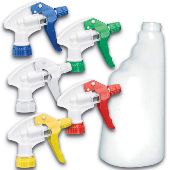 TRIGGER SPRAY BOTTLE COMPLETE YELLOW - Each
