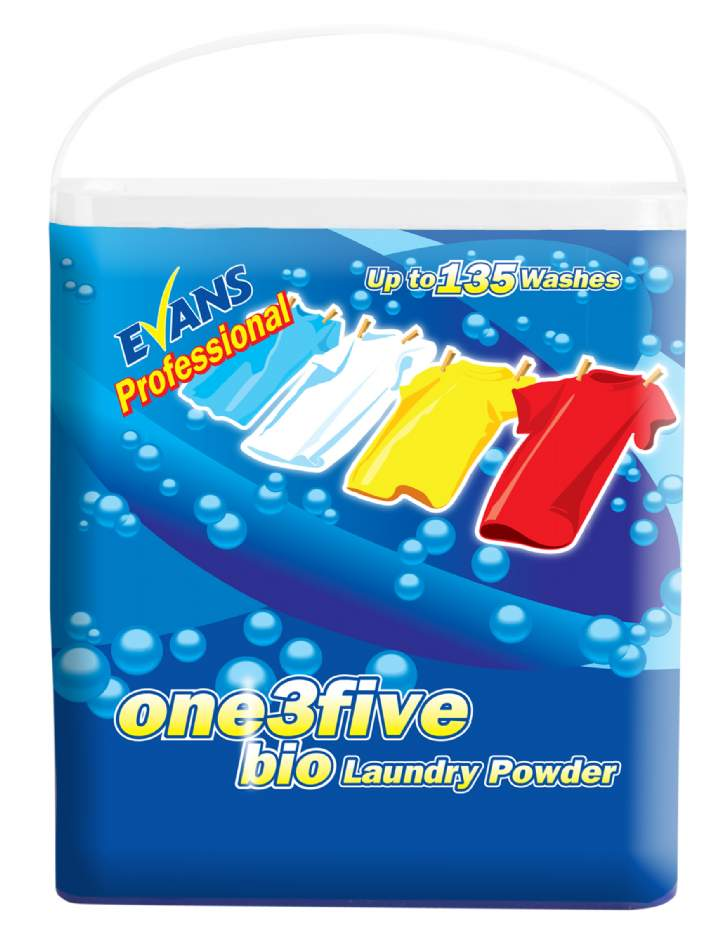EVANS 135 BIO LAUNDRY POWDER - 135 wash