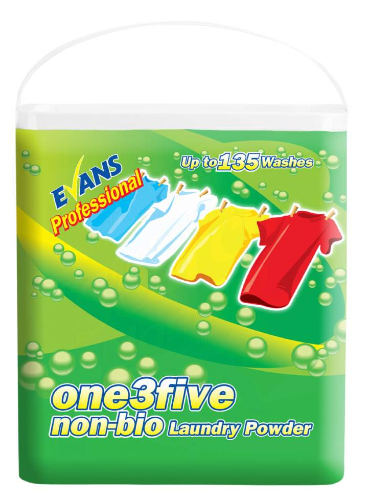 EVANS 135 NON BIO LAUNDRY POWDER - 135 wash