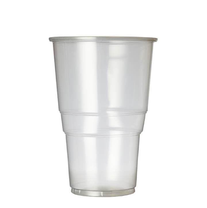 PINT 2 BRIM PLASTIC FLEXY GLASSES - Ctn 1000