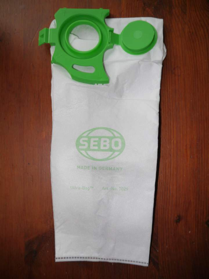 SEBO DART WHITE SEALABLE DUST BAGS - Pack 10