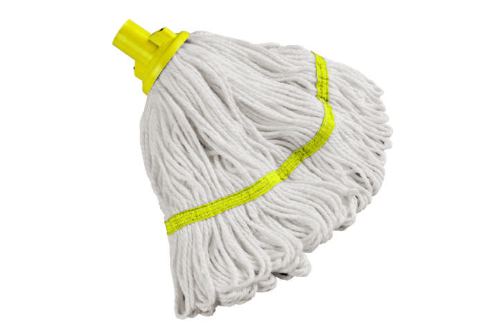 HYGIENE SCREW ON MOP YELLOW 200gm - Each