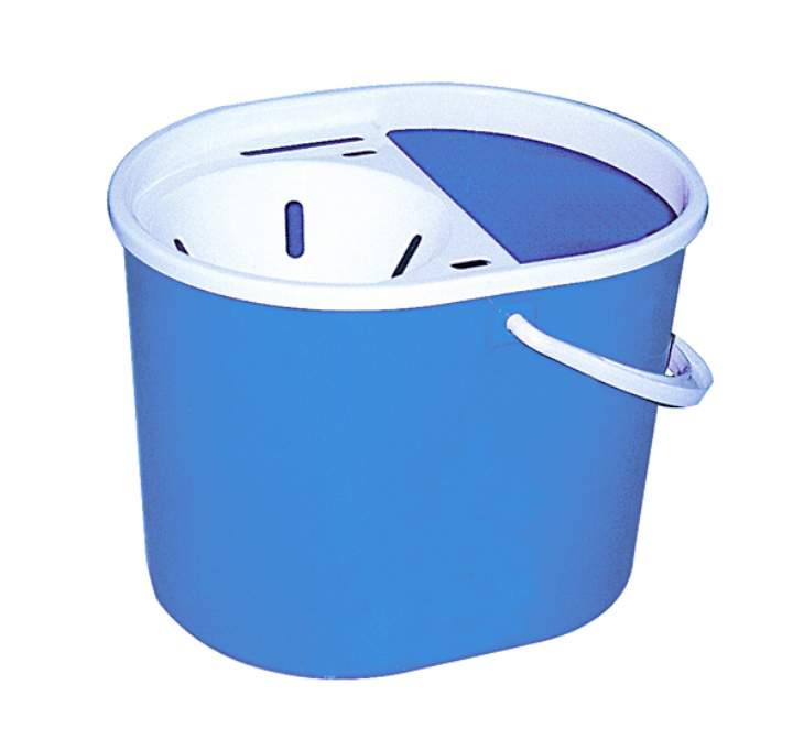 BUDGET FUNNEL MOP BUCKET 7ltr BLUE - Each