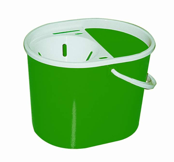 BUDGET FUNNEL MOP BUCKET 7ltr GREEN - Each