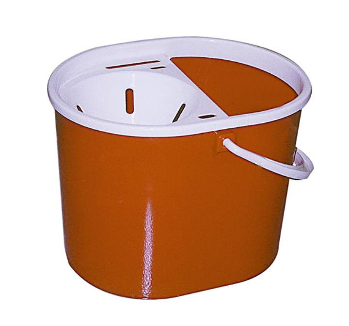 BUDGET FUNNEL MOP BUCKET 7ltr RED - Each