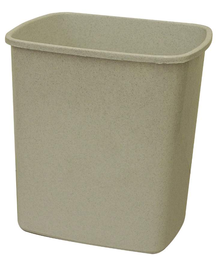 SQUARE  PLASTIC OFFICE BIN 12ltr - Each