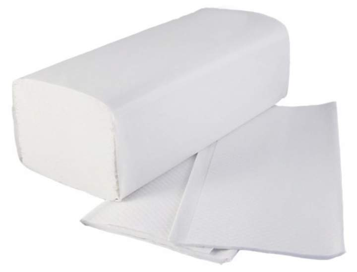 2PLY INTERFOLD STD WHITE HAND TOWEL - Ctn 3000