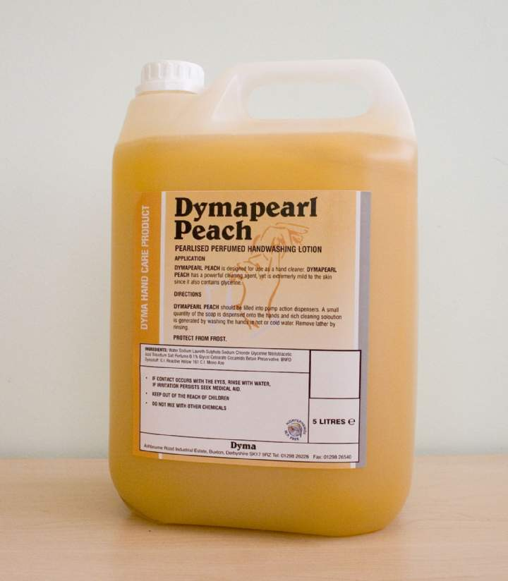 DYMAPEARL PEACH HANDSOAP - 6x1ltr