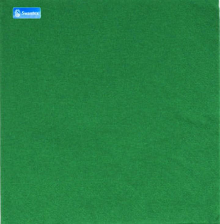 40/2PLY MP DARK GREEN NAPKINS - Ctn 2000