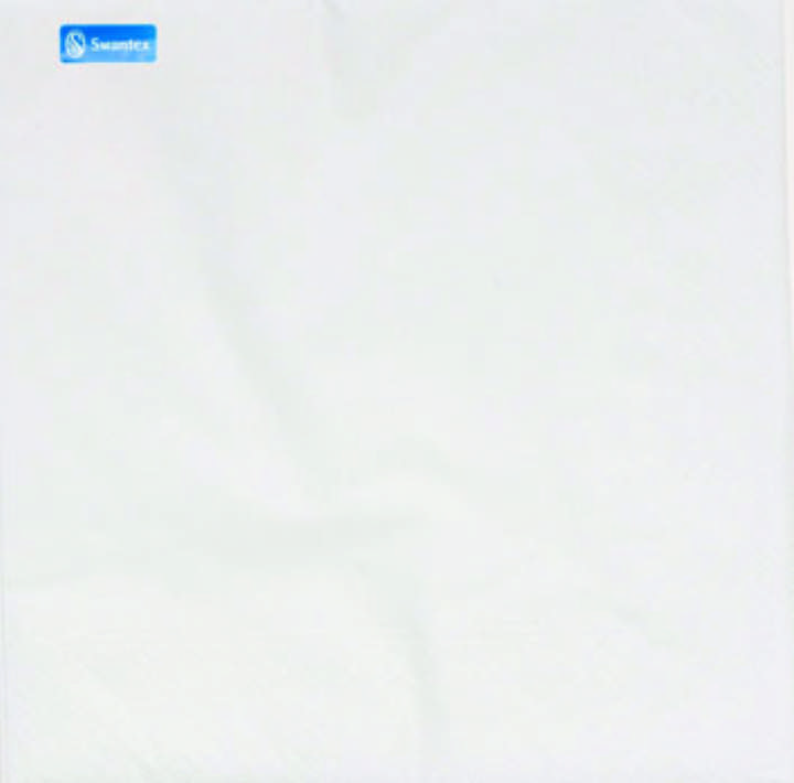 33/2PLY WHITE NAPKINS - Ctn 2000