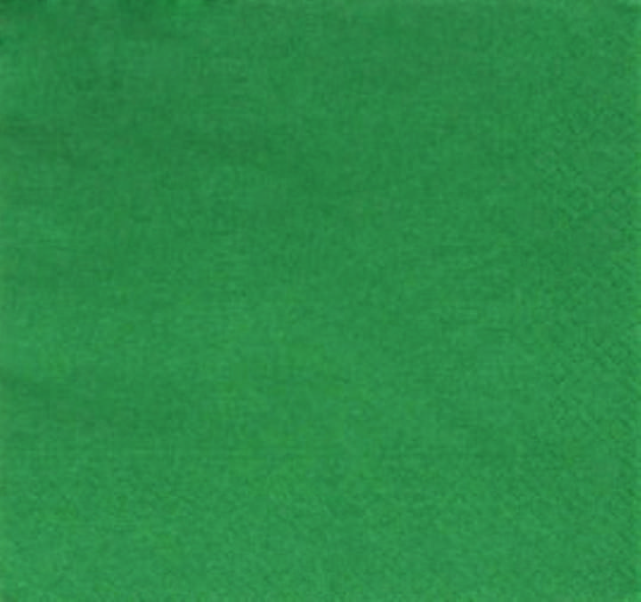 33/2PLY MP DARK GREEN NAPKINS - Ctn 2000