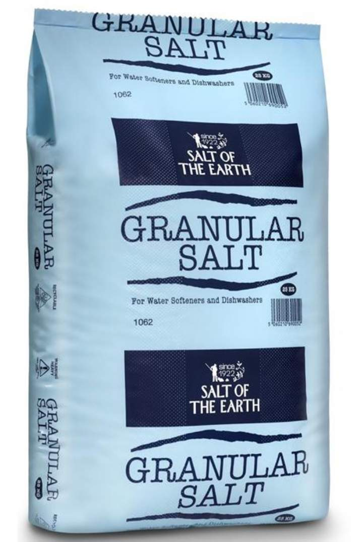 GRANULAR WATER SOFTENING SALT - 25kg