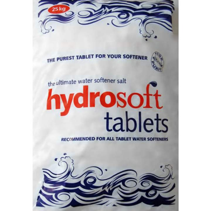 TABLET WATER SOFTENING SALT - 25kg