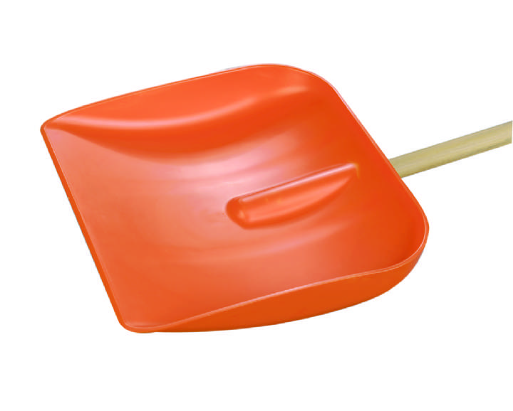 PLASTIC 40cm HD SNOW SHOVEL & LONG HANDLE - Each