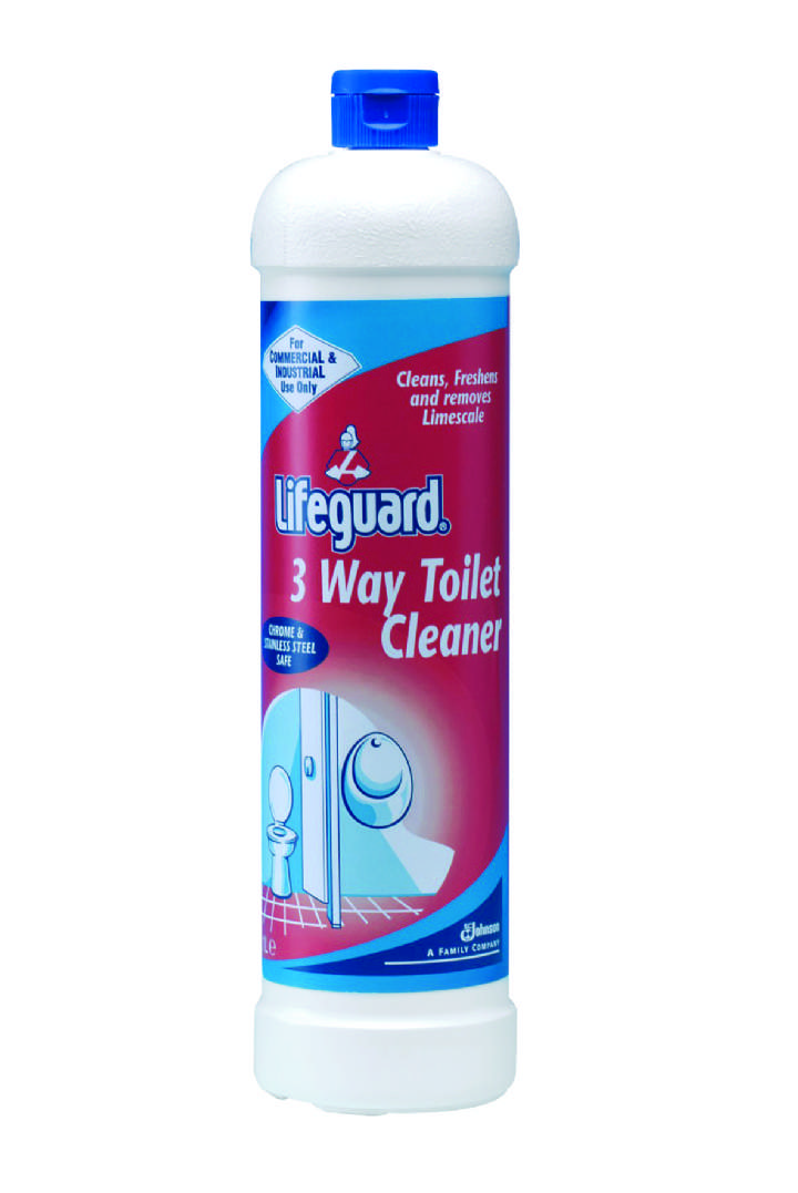 LIFEGUARD 3-WAY TOILET CLEANER - 12x1ltr