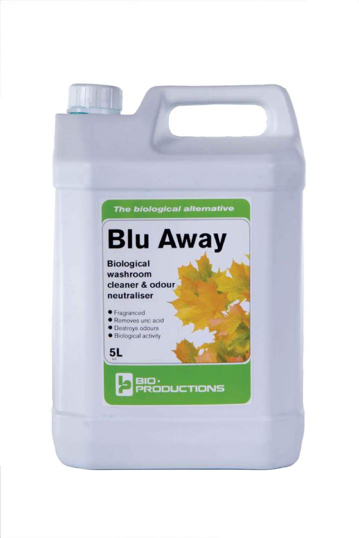 BLU AWAY BIO & WC CLEANER CONCENTRATE - 5ltr