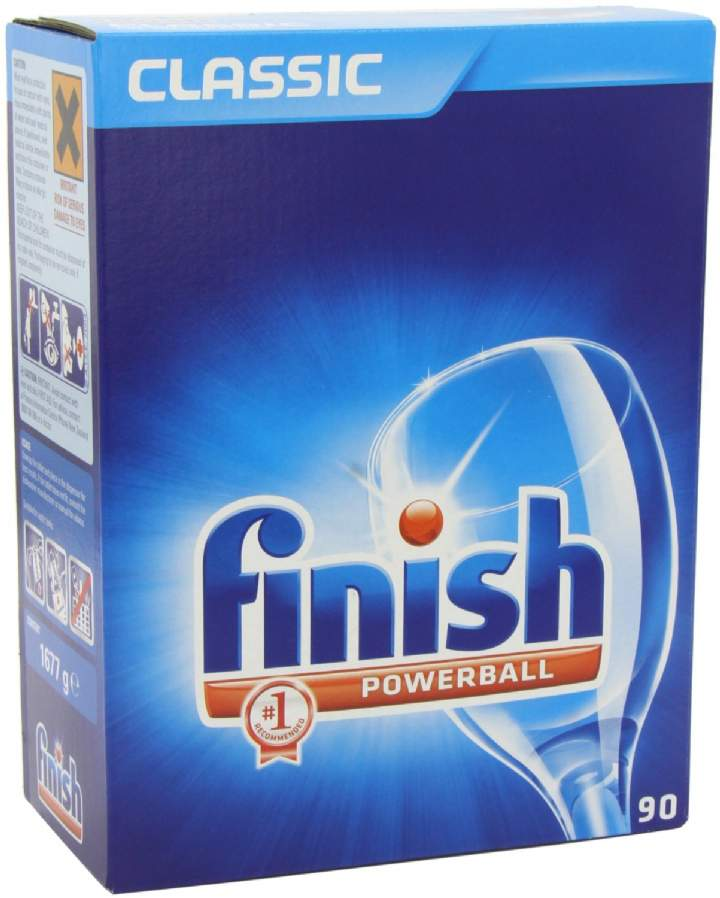 FINISH POWERBALL DISHWASHER TABLETS - Ctn 90