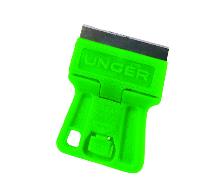 UNGER MINI GREEN MINI SCRAPER 4cm - Each