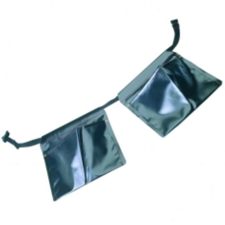 PVC DOUBLE POUCH & BELT - Each