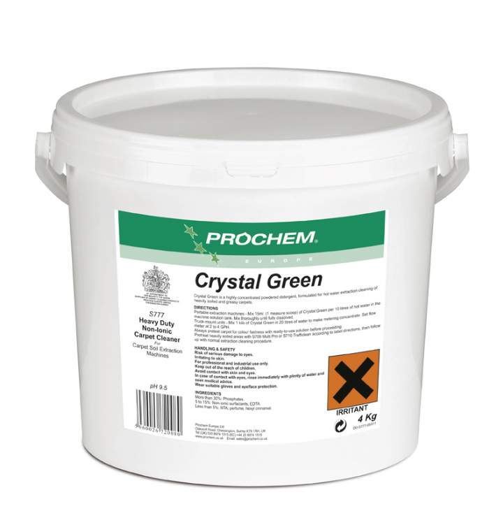 CRYSTAL GREEN POWDERED SHAMPOO - 4kg