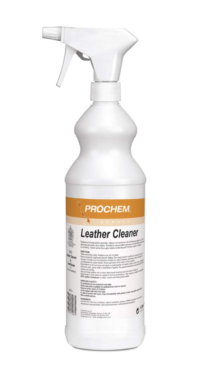 LEATHER CLEANER TRIGGER SPRAY 1ltr - 1ltr