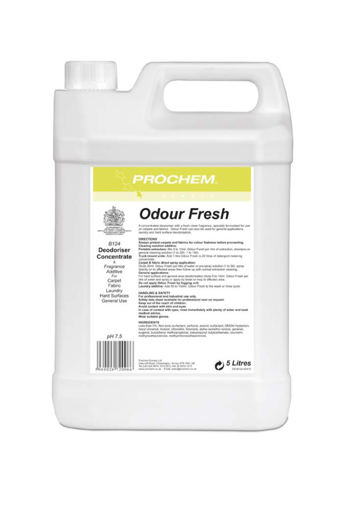 ODOUR FRESH CARPET FRESHENER - 5ltr