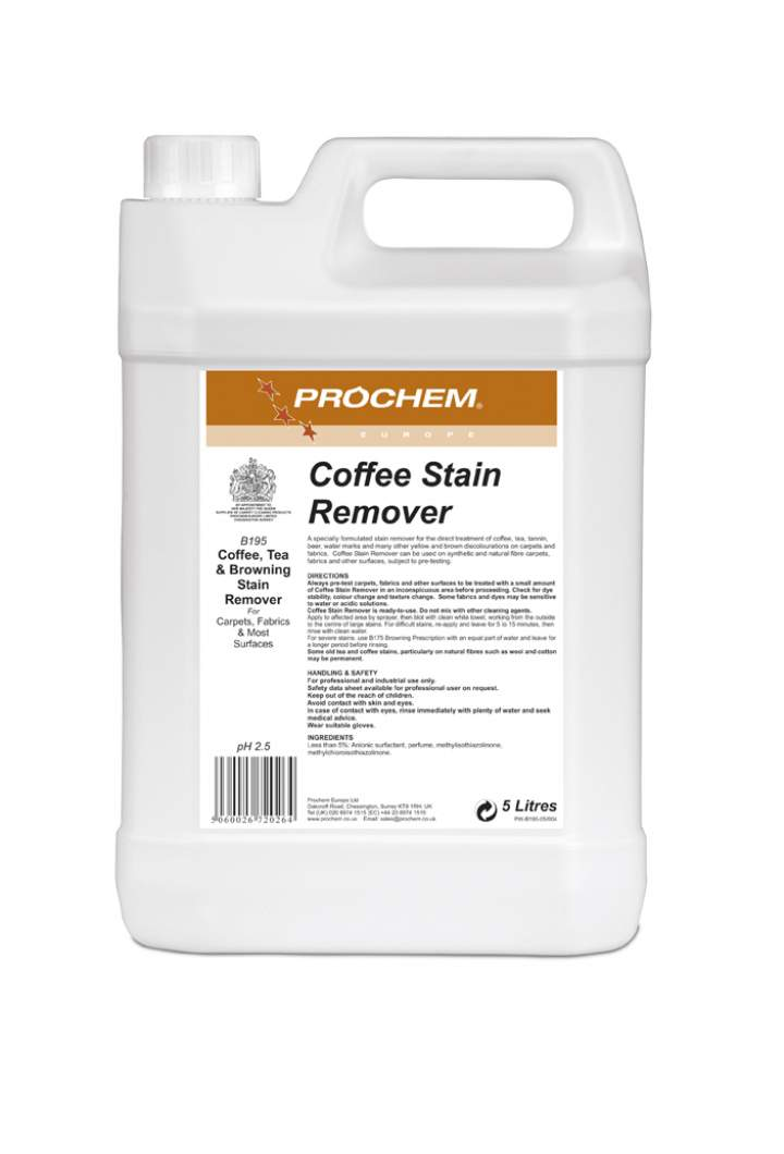COFFEE STAIN REMOVER 5ltr - 5ltr