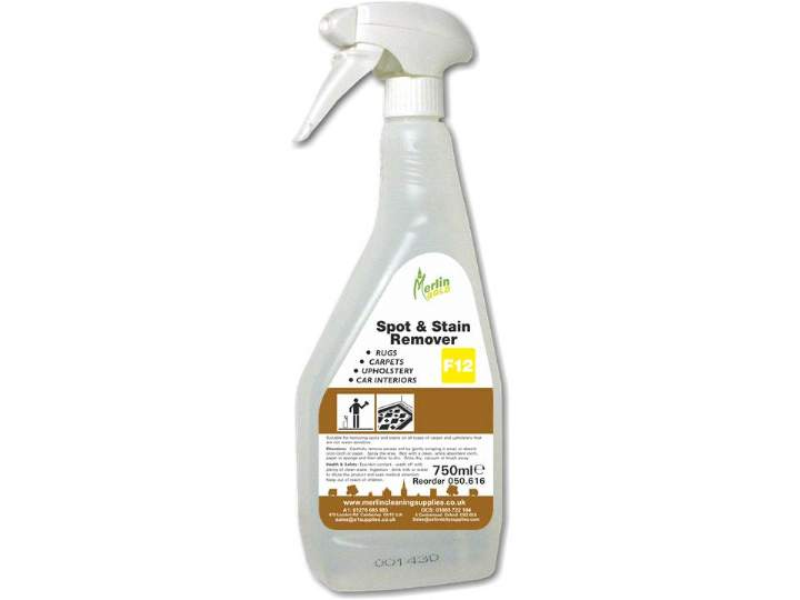 MERLIN CARPET SPOT & STAIN REMOVER - 6x750ml
