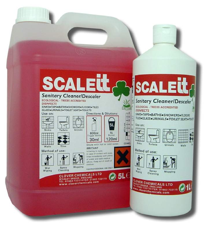 SCALEIT WASHROOM DESCALER & CLEANER RTU - 12x1ltr