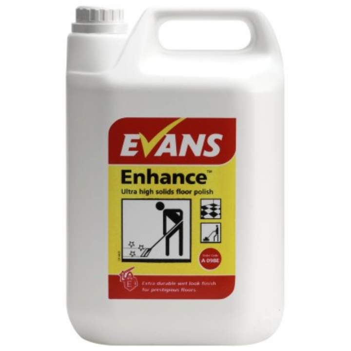 EVANS ENHANCE HI SOLIDS WETLOOK POLISH - 5ltr