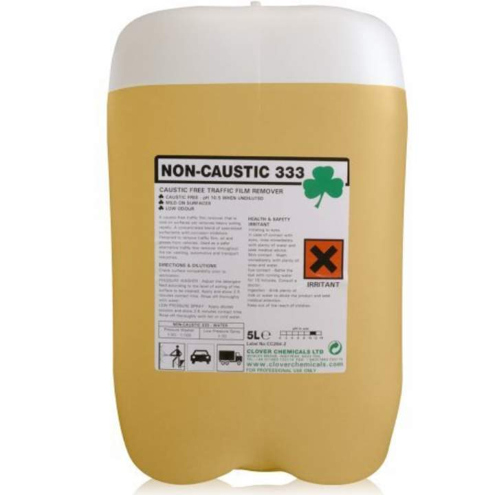 NON CAUSTIC 333 TRAFFIC FILM REMOVER - 20ltr
