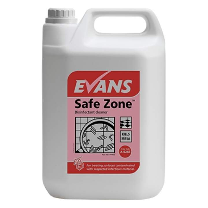 SAFEZONE DISINFECT CLEANER - 5ltr