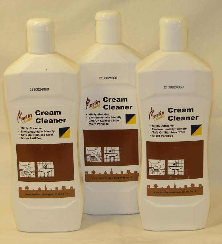 MERLIN LEMON CREAM CLEANER - 12x500ml